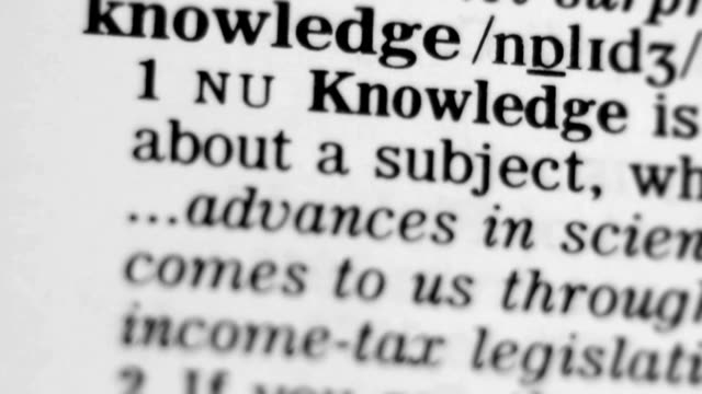 Dictionary Definition - Knowledge video