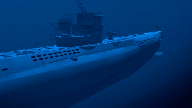 Diesel submarine video