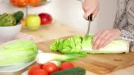 Diet salad video
