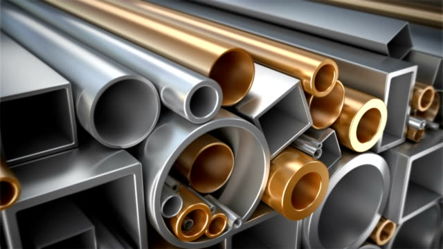 Diffirent pipes set. video