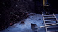 Digging a hole video