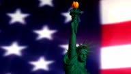 Digital Animation of the Statue of Liberty video