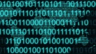 digital binary computer data code number Internet cyberspace graphic animation video