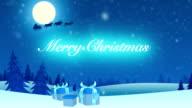 Digital Christmas Card video