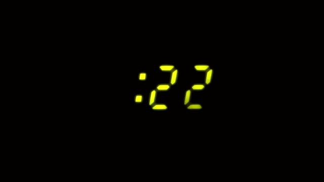 Digital Clock HD video