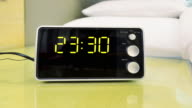 Digital Clock Timing 00:00~12:00 (Time-lapse, Zoom) video