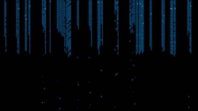 Digital Computer Code Data Matrix video