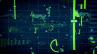 Digital data charts internet video