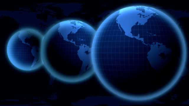 Digital earth background video