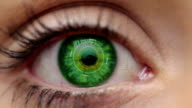 Digital Eye Green + alpha video