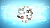Digital graphic animation video