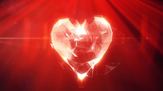 Digital Heart Animation | 4K video