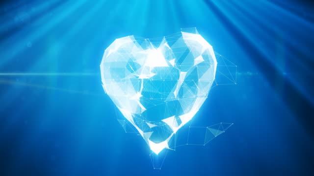 Digital Heart Animation   4K video