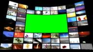 Digital memories with chromakey video