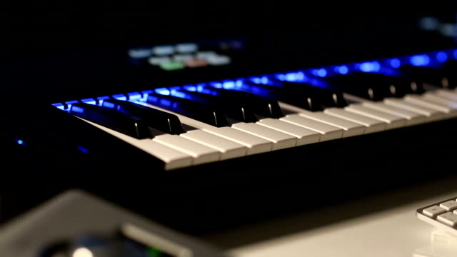Digital Musical Piano Synthesizer video