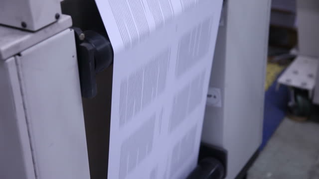Digital Printing Press video