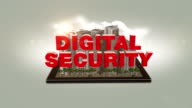 Digital Security Text In The Digital City video