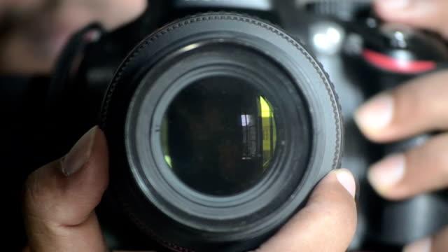 Digital SLR camera Lens Focusing and controlling video