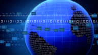 Digital world loop video