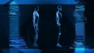 Digital X-Ray Scan of Human Body (HD) video
