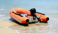 dinghy boat video