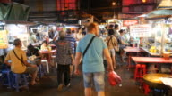 Dining in China Town of Bangkok video