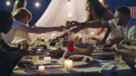 Dining on the Beach video