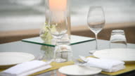 Dinner table set video
