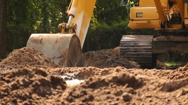 Dirt Excavation video