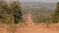 dirt road in africa video