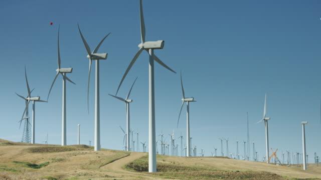 Dirt Track Through Wind Farm video