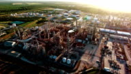 Dirty Polluting Carbon Petro-chemical Oil Refinery the Cause of Climate Change video