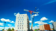 Disassembly tower crane, time-lapse video