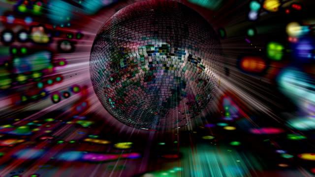 Disco background video