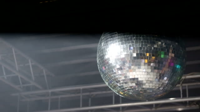 Disco Ball Real Footage video