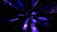Disco Dance Tunnel and Fireworks, Loop, 4k video