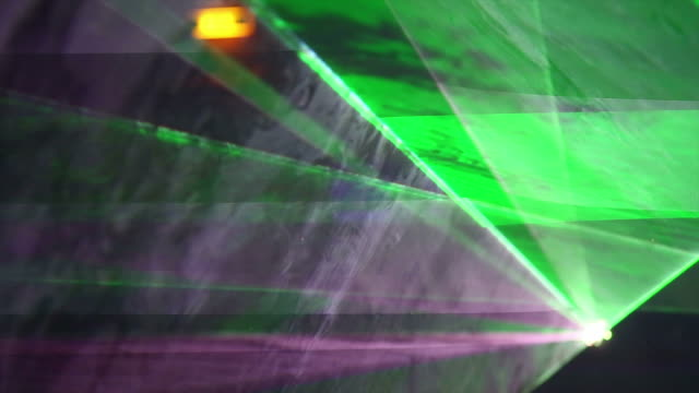 HD Disco Laser Close-up (loopable) video