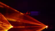 Disco Laser Lights Close-up (Loopable) video