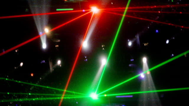 disco lasers video