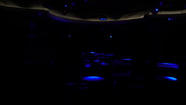 Disco light patterns video
