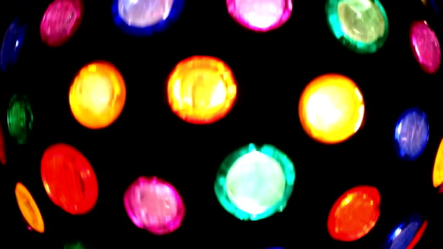 Disco light video