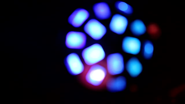 Disco Light with Bokeh video