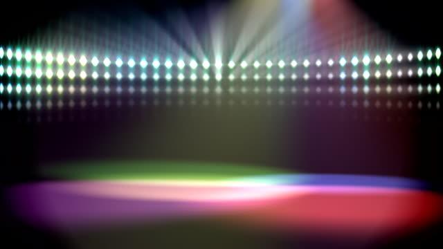 disco lights loop video