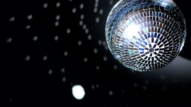 Disco mirror ball video