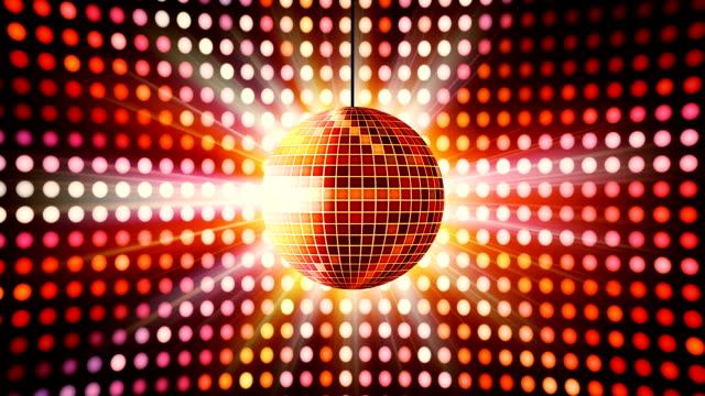 Disco night Mirrorball video