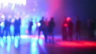 disco party, people dancing, discotheques, power lights video