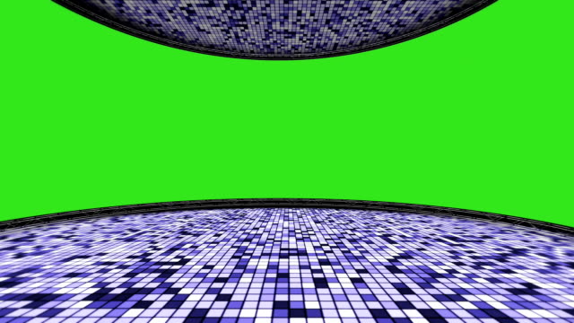 Disco Room with Green Screen video