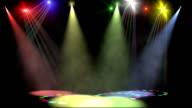 Disco scene loop video