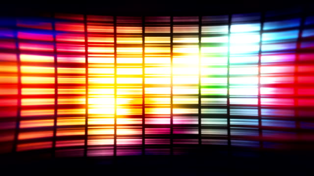 Disco style colorful loopable background footage video
