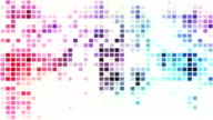 Disco style mosaic loopable background video